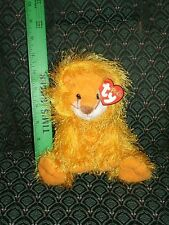 "Ty Punkies 6"" ~ KITTY ~ LION ~ RARE ~ HTF ~ MWMT ~ 2003 ~ shaggy"