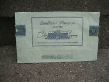 Vintage 1920's Southern Mansion Tobacco Paper Packaging