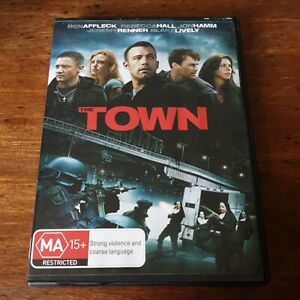 The Town Ben Affleck DVD R4 Like New! FREE POST