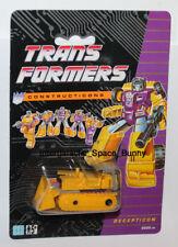 1991 Hasbro Transformers Constructicons G2 European UK Recolor Bonecrusher MOC