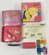 Limited Edition1994 Barbie Fossil Watch Leather Strap Pretty & Pink New