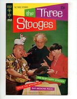 "THE THREE STOOGES #52  VF+ 8.5  ""SOLVE THE MYSTERY OF BAD-MEDICINE ROCK"""