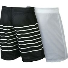 "Nike sz 3XL  Men's Reversible Shorts 22 1/2 "" Long NEW 647503 010 White / Black"