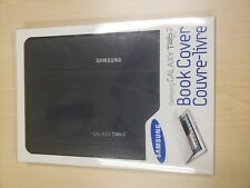 Samsung Galaxy Tab 2 10.1 Black Book Cover Holder/Stand Carrying Case