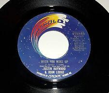 Justin Hayward & John Lodge: When You Wake Up/ Blue Guitar [New w/pic sleeve