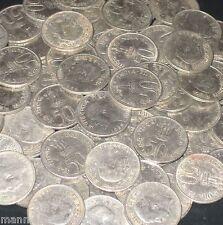 100 Coins LOT 1964 JAWAHARLAL NEHRU (Hindi Legend)  50 Paise Commemorative india