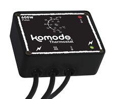 Komodo Pulse Proportional 600w Thermostat - Black