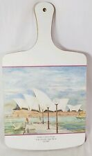 Jason Melamine Collection Wall Hanging cutting board SYDNEY OPERA HOUSE PORTRAIT