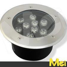 E010 calpestabile 9W LUCE CALDA segnapasso a LED da esterno 220V IP65 completo