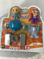Brand New In Packet Go Jetters Foz And Xuli Click On Toys CBeebies Cake Topper