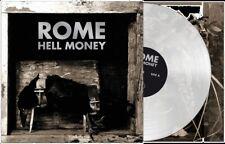ROME Hell Money LP CLEAR VINYL 2016 LTD.500