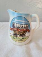 Vintage Ceramic Creamer Advertising The Harold Warp Pioneer Village Minden, Neb.