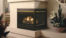 "Superior Elite 40"" Gas Fireplace,Top/Rear Combo, Corner Right, Millivolt"