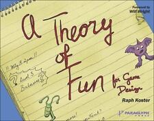 A Theory of Fun for Game Design, Koster, Raph, Good Condition, Book