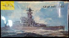Heller Admiral GRAF VON SPEE German WWII Pocket Battleship 1/400 Model Kit 801