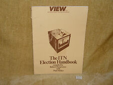 RARE VINTAGE VIEW NO.1 AN INDEPENDENT TELEVISION JOURNAL ITN ELECTION HANDBOOK