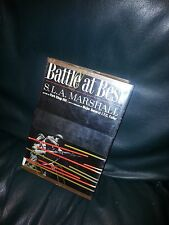 BATTLE AT BEST * S. L. A. MARSHALL * 1964 HC&DJ * EX LIB * PORK CHOP HILL *
