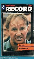 #NN. AUSTRALIAN RULES FOOTBALL RECORD, SYDNEY SWANS V HAWTHORN 20-21/4/1985