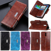 Luxury 6 Card Wallet Leather Flip Case Cover For Nokia C3 C2 5.3 7.2 6.2 3.2 4.2