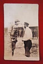 World War 1 Postcard - French Prisoner at Zwickau Prison Camp - Extremely Rare