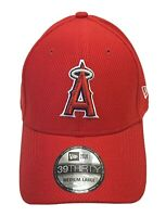 New ERA 39Thirty Los Angeles Angels Hat Red Stretch M/L