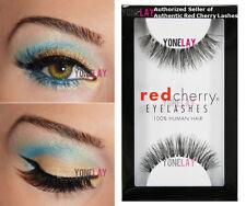 10x #415 Authentic Red Cherry Eyelashes 100 Human Hair Fashion Makeup