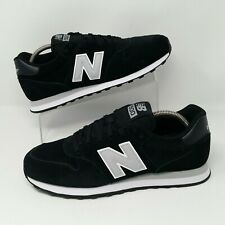 2f199bd6cbcd0 *NEW* New Balance 500 (Men's Size 9.5) Suede Athletic Sneaker Shoes Black