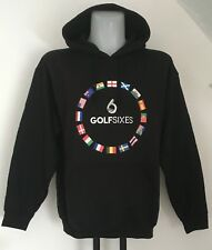GOLF SIXES BLACK OTH HOODIE SIZE MEN'S LARGE OFFICIAL MERCHANDISE BRAND NEW
