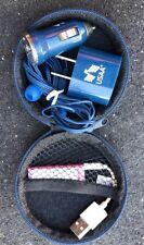 Apple iPod PINK Mini Shuffle 3 Generation w/Blue HP/Car Charger/Zip Case~Bundle