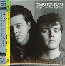 TEARS FOR FEARS-SONGS FROM THE BIG CHAIR-JAPAN MINI LP SHM-CD Ltd/Ed G00