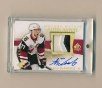 2016-17 Anthony DeAngelo SP Authentic Future Watch Rookie Jersey Auto Patch /100