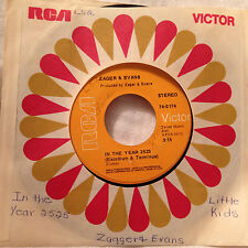Zager & Evans 45rpm w/sleeve In the Year 2525/Little Kids - RCA Victor Records