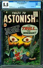 Tales to Astonish #21 CGC 5.5 Atlas 1961 Hulk Prototype! Key! Marvel L5 309 1 cm