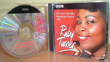 RUBY TURNER - BBC Live in Concert - Glastonbury Festival 1986