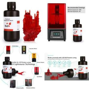 Elegoo 3D Printer Rapid Resin Lcd Uv-Curing Resin 405Nm Standard Photopolymer Re