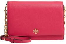 79516fa46cc3 NWT TORY BURCH  398 BRIGHT AZALEA PINK GEORGIA CLUTCH COMBO CROSSBODY BAG