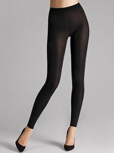 Wolford Velvet 66 Leggings, Opaque, Black
