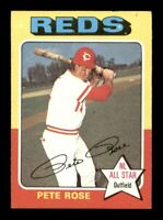 1975 Topps Set Break # 320 Pete Rose EX *OBGcards*