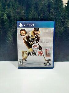 EA Sports NHL 15 Sony PlayStation 4 PS4 Hockey Game
