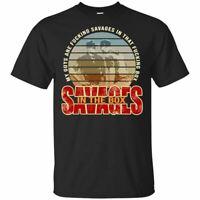 Aaron Boone Savages #19 T-Shirt New York Yankees Tee Shirt Short Sleeve S-5XL