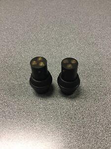 RAT ROD OLD VINTAGE WIRING CONNECTOR X2 =! 1 PAIR HEADLIGHT HEAD LIGHT LAMP SCTA