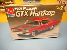 """AMT ERTL MUSCLE 1969 PLYMOUTH GTX  HARDTOP  """"NEW"""""""