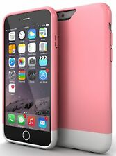 iPhone 6 Case Stalion Slider Series Hard Case Pink and White Free Shipping!!!