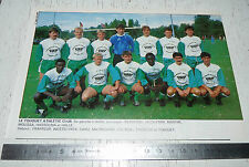 CLIPPING POSTER FOOTBALL 1988-1989 LE TOUQUET ATHLETIC CLUB