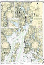 NOAA Chart Penobscot River, Belfast Harbor 29th Edition 13309