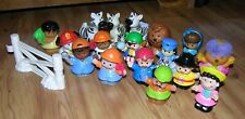 Large Lot Fisher Price Little People Zoo Animals & Accessories