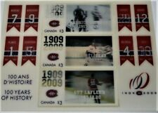 Montreal Canadiens 2009 Canada Post 100 Years of History Holographic Stamps Rich