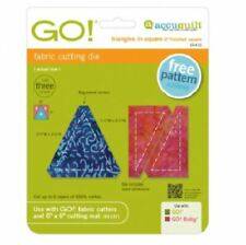 """AccuQuilt Go! Triangles in Square Die (2"""" Finished Square) 55410"""