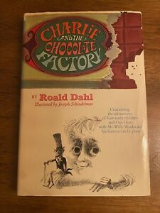 Charlie and the Chocolate Factory Roald Dahl 1964 very good early edition