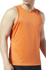 Reebok Essential Speedwick Mens Running Vest - Orange
